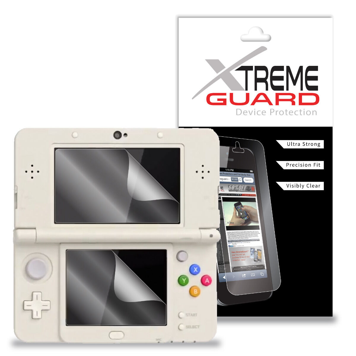 Genuine XtremeGuard LCD Screen Protector Skin Cover For Nint