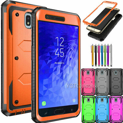 For Samsung Galaxy j3 2017 j7 2018 Refine Star Crown Case Rugged Silicone Cover