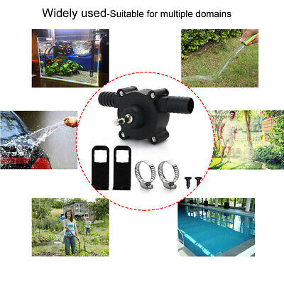 Micro Dc Household Small Pump Water Transfer Self-priming For Electric Drill