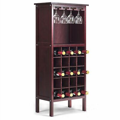 Etonnant Wood Wine Cabinet White Bottle Holder Kitchen Home Bar Liquor Storage  Organizer For Sale Online   EBay