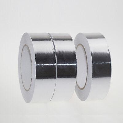 50m2cm Heat Shield Flame Resistant Aluminum Foil Tape Adhesive Sealing Tape
