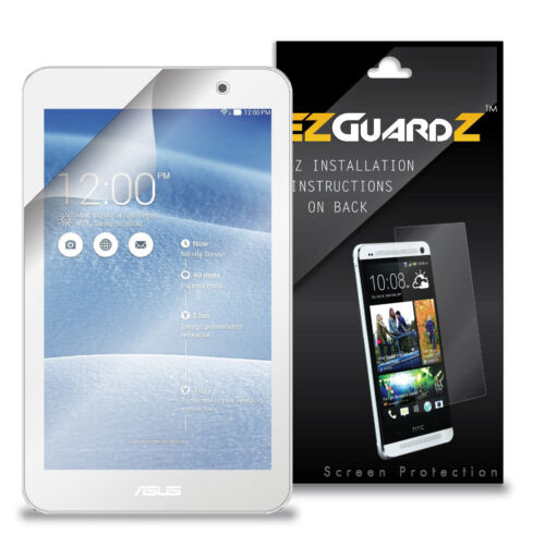 2x Ezguardz Lcd Screen Protector Skin Hd 2x For Asus Memo Pad 7 Tablet (Clear)
