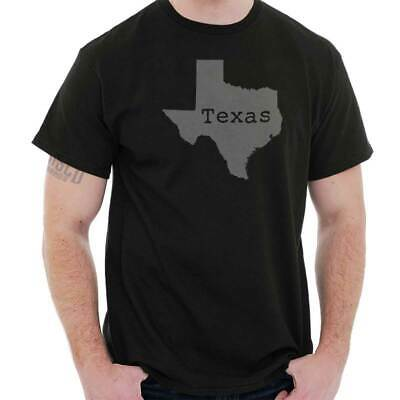 Texas State Shirt State Pride USA T Novelty Gift Ideas Graphic T-Shirt Tee ()