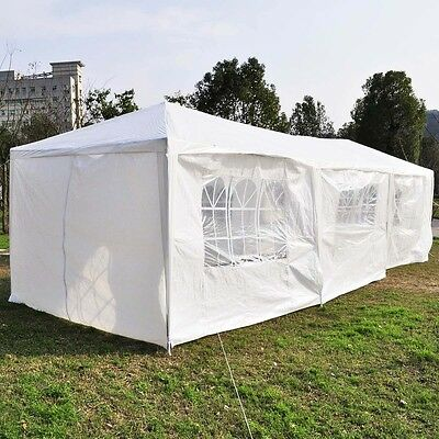 10'x30'Canopy Party Wedding Outdoor Tent Gazebo Pavilion ...