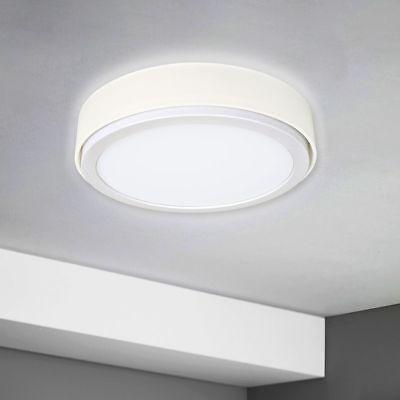 LED Panel Luz Pared Lámpara de Techo Aplique 900 Pantalla Tela Blanco...