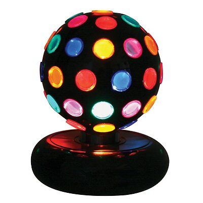 "LumiSource Multi-Color Rotating Disco Ball 7""D x 9"" H LS-DISCO-6M New"