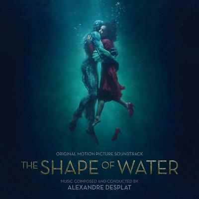 Alexandre Desplat: The Shape Of Water Soundtrack Coloured Vinyl LP (PRE-ORDER)