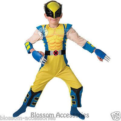 CK155 Wolverine Deluxe Hero Superhero Boys Book Week Kids Halloween Costume](Wolverine Halloween Costume Kids)