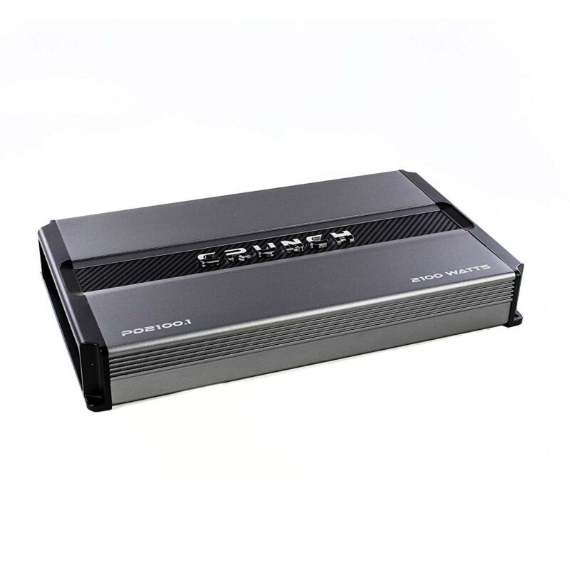 Crunch Power Drive 2100W Max Monoblock Class A/B Car Audio Amplifier | PD2100.1