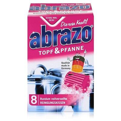 abrazo Topf & Pfanne Reinigungskissen - Die rosa Kraft (Reinigung Topf)