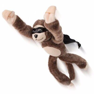 Cute Plush Monkey Toy Flying Screaming Slingshot Monkey