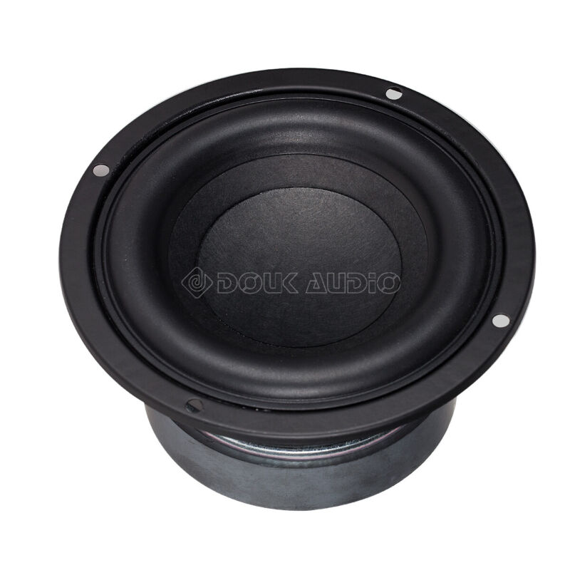 "HiFi 4"" inch Subwoofer Speaker Unit Home Audio Bass Loudspeaker DIY 100W"