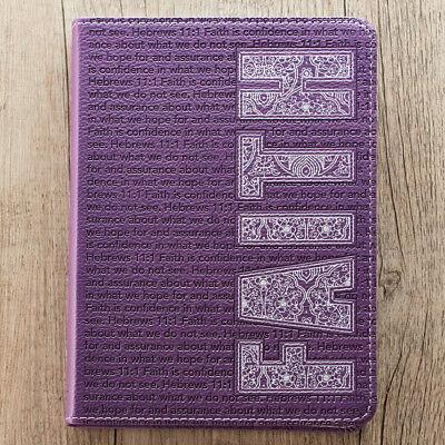 Purple Faith Flexcover Journal  by Christian Art (Flexcover Journal)