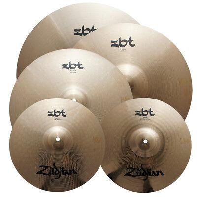 Zbt Series (Zildjian Zbtp390-A 5Pc Bright Sound Zbt Series Cymbal Set - Traditional -)