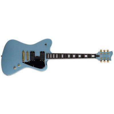 ESP LTD Sparrowhawk Pelham Blue PB Bill Kelliher Electric Guitar + Hard Case