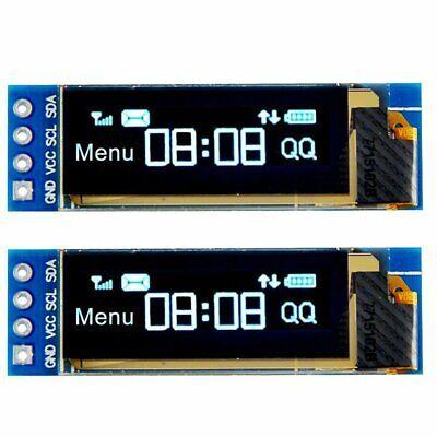 2pcs I2c Oled Display Module 0.91 I2c Ssd1306 Oled Display Module For Arduino
