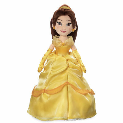 New Disney Store Belle Plush Doll 18' Toy Doll Beauty and the Beast -