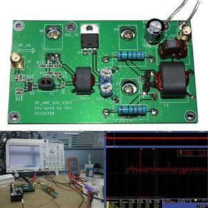 45W SSB linear Power Amplifier for Transceiver Radio HF FM CW HAM 40dB DIY Kits
