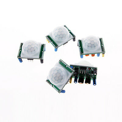 5pcs Hc-sr501 Infrared Pir Motion Sensor Module For Arduino Raspberry Pi