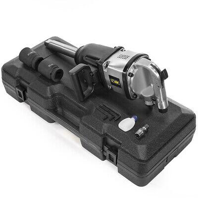 "1/"" Inch Drive Air Impact Wrench Tool Gun 1in dr Long Shank 2 Sockets 1900 lb HD"