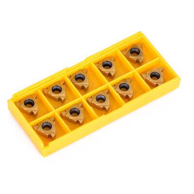 10pcs Ag60 16 Er Cnc Carbide Threading Insert For External Turning Holder Tool B