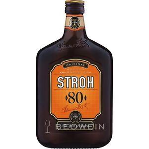 Stroh 80 Original Inländer Rum 80%vol 0,5 l