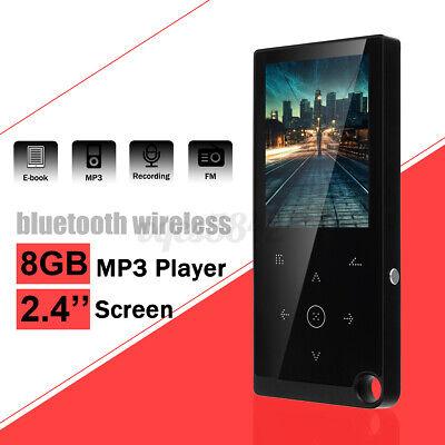 2.4'' Portable bluetooth MP3 Music Player FM TF Lossless Rad