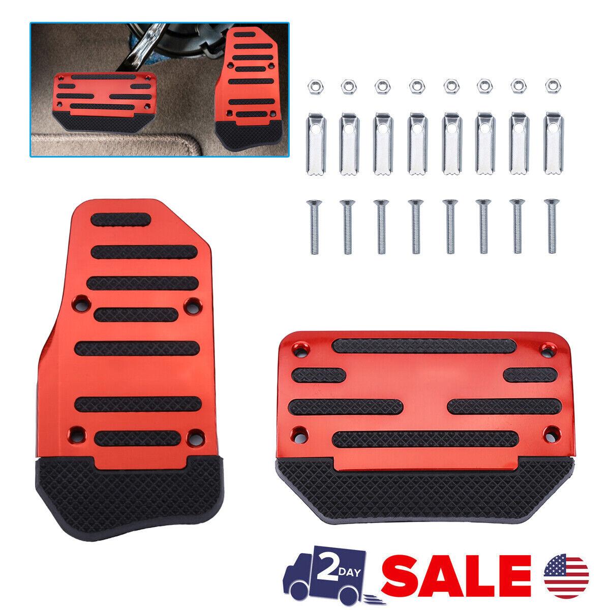 Auto Racing Sports Non-Slip Automatic Car Accessories Gas Brake Pedals Pad Cover