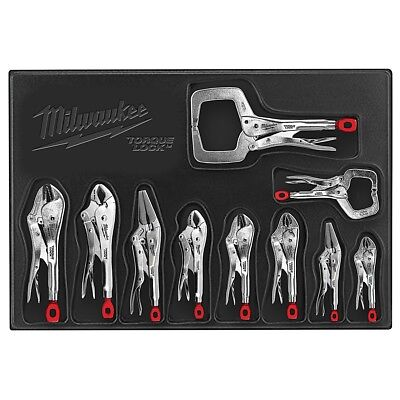 Milwaukee TORQUE LOCK 10 Piece Locking Pliers Kit 48-22-3690