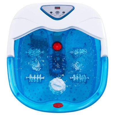 Foot Spa Bath Massager LCD Display Temperature Control Heat Infrared Bubbles