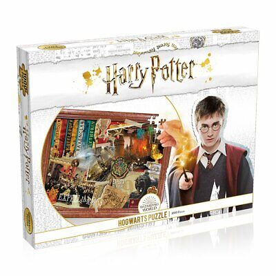 Harry Potter Hogwarts 1000 Piece Jigsaw Puzzle - New for 2020 - Family Games