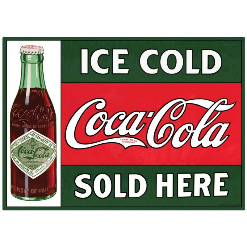 Ice Cold Coca-Cola Sold Here Decal Peel & Stick Wall Graphic