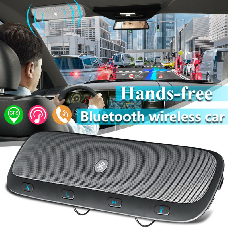 TZ900 Wireless bluetooth Hands Free Car Kit Speakerphone Speaker Visor Clip