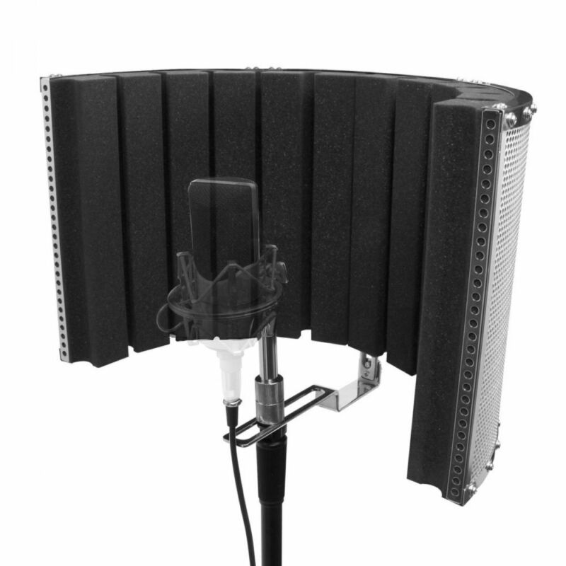On-Stage Microphone Acoustic Isolation Shield - ASMS4730