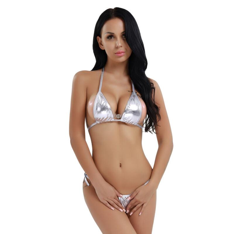 aff2671316 Women Micro Bra Swimsuit Bikini Swimwear Slingshot Monokini Bodysuit  Babydoll. Set Include: 1pc Monokini Condition: New without tag. Material:  Polyester