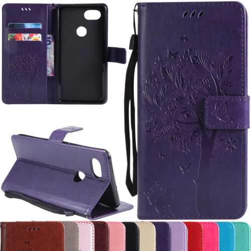 For Google Pixel / Pixel 2 XL Leather Flip Wallet Phone Case