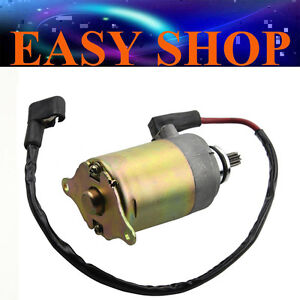 Start Starter Motor 9 Teeth GY6 125cc 150cc quad atv bike buggy Moped Scooter