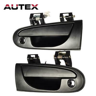 2 PCS For 1995-1999 MITSUBISHI ECLIPSE Exterior Front Left Right Door Handle