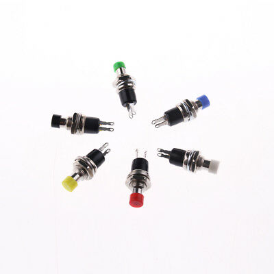 10pcs 7mm Normally Closed Mini Momentary Push Button Switch Spst Pbs-110