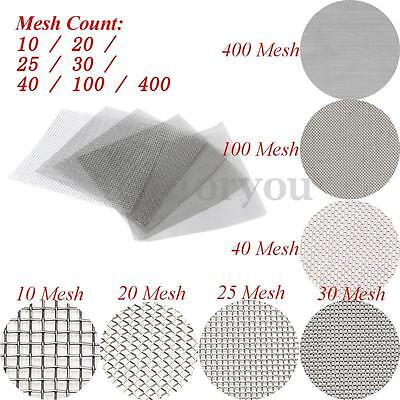 "Screen 12/""x18/"" Stainless Steel 316 Mesh #40 .010 Wire"