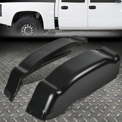 FOR 01-07 CHEVY SILVERADO GMC SIERRA CREW PICKUP TRUCK PAIR SLIP-ON CAB CORNERS