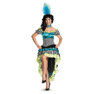Can-Can Cutie Dancer Sassy Adult Costume Disguise - Can Can Dancers Costumes