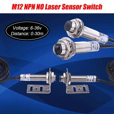 M12 Npn No Laser Sensorphotoelectric Switch Correlation Infrared Radio