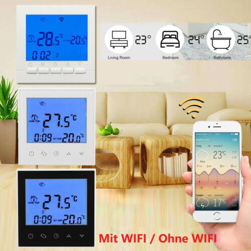 WIFI Raumthermostat digital Raumtemperaturregler LCD Raumregler Fußbodenheizung
