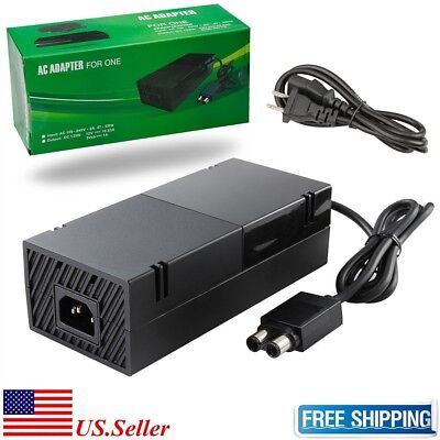 Power Supply with Cable For Microsoft XBOX ONE Console brick