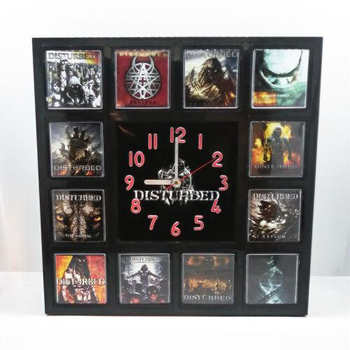 Disturbed Rock Band Wall Clock