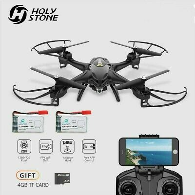 Holy Stone HS200 FPV RC Drone with HD Camera  2.4GHz 4CH 6-Axis Gyro Quadcopter