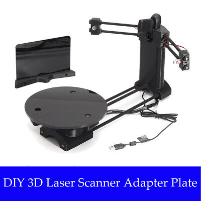 DIY Scanner Laser Printer Desktop Plate 3KG Per Ciclop 3D Stampante Scanning set