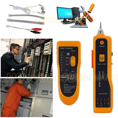 Telephonephone Network Cable Tester Wire Line Lan Cable Rj Tracker Toner Tracer