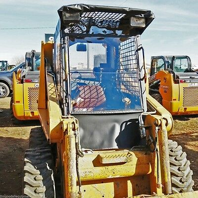 Case Skid Steer Vinyl Cab Enclosurefits1845c Only Stay Warm Dry This Winter